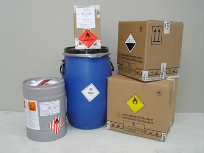 dangerous goods packaging, hazardous substances transport