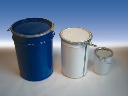 Steel drums with removable lid