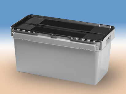 Plastic boxes with cover